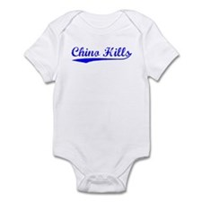 Vintage Chino Hills (Blue) Infant Bodysuit