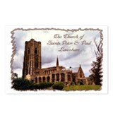 ...Lavenham Church... Postcards (Package of 8)