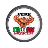 PURE Italian MUSCLE! - Wall Clock