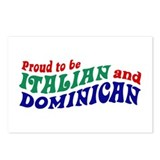 Dominican italian Postcards (Package of 8)