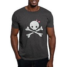 cutie skull (pink) T-Shirt