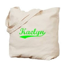 Vintage Kaelyn (Green) Tote Bag