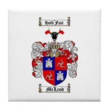 McLeod Family Crest Tile Coaster