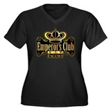 Emperor's Club VIP Escort Women's Plus Size V-Neck