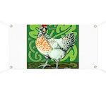 Ameraucana Hen Chicken Banner