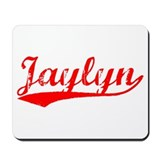 Vintage Jaylyn (Red) Mousepad