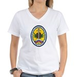 Russian DEA Women's V-Neck T-Shirt