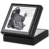 Anderson Camera Quote Keepsake Box