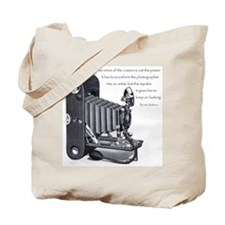 Anderson Camera Quote Tote Bag