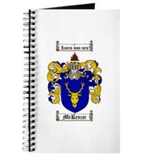 McKenzie Family Crest Journal