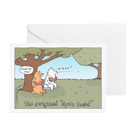 Spitz Breed Greeting Cards (Pk of 10)