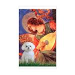 Mandolin Angel / Maltese Rectangle Sticker