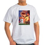 Mandolin Angel / Maltese Light T-Shirt