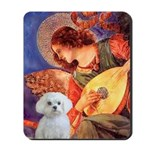Mandolin Angel / Maltese Mousepad