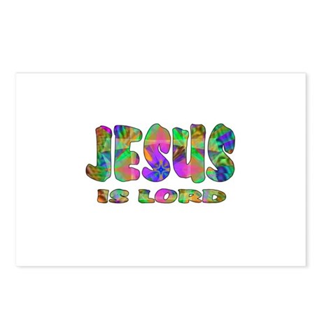 Jesus is Lord Postcards (Package of 8)