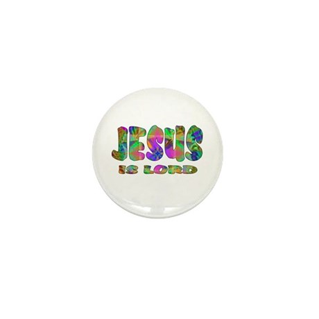 Jesus is Lord Mini Button