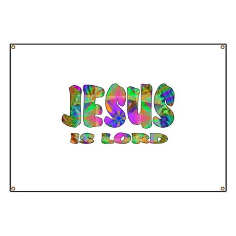 Jesus is Lord Banner