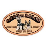 Double The Fun Oval Sticker (10 pk)