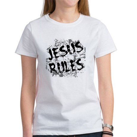 Jesus Rules Women's T-Shirt
