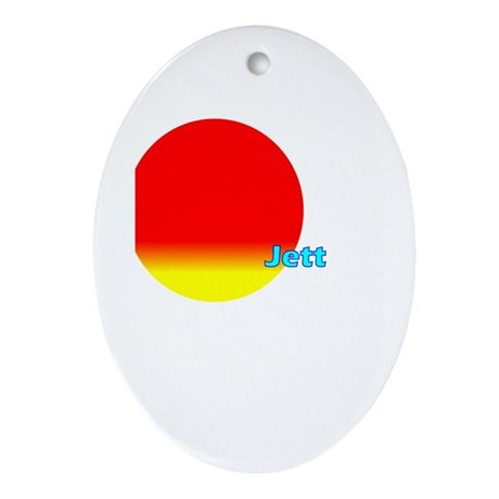 Jett Oval Ornament