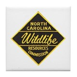 NC Game Warden Tile Coaster