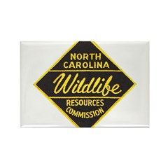 NC Game Warden Rectangle Magnet (100 pack)
