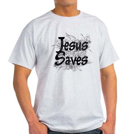 Jesus Saves Light T-Shirt
