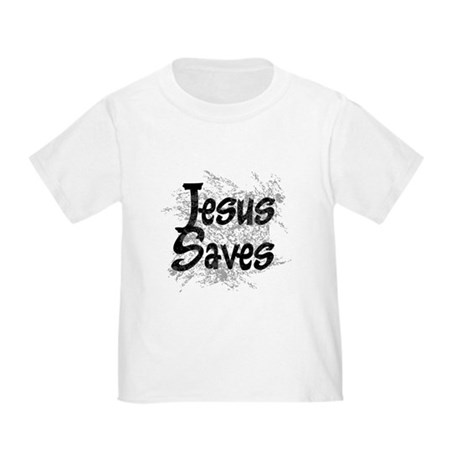 Jesus Saves Toddler T-Shirt