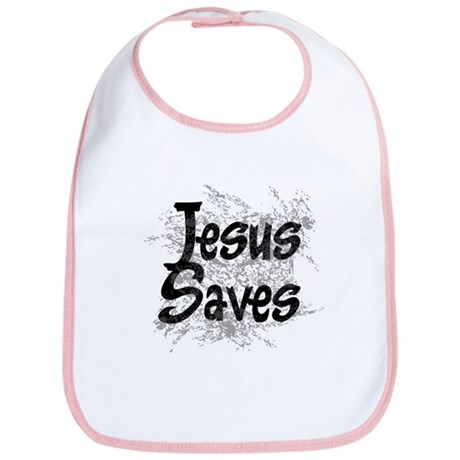 Jesus Saves Bib