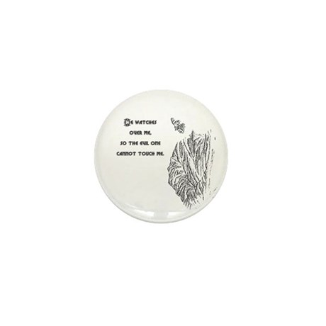 Watching Over Me Mini Button (100 pack)