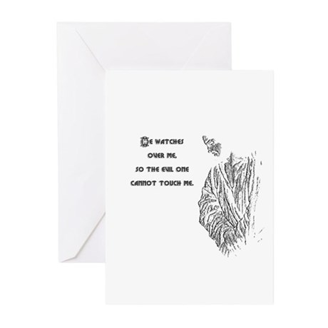 Watching Over Me Greeting Cards (Pk of 10)