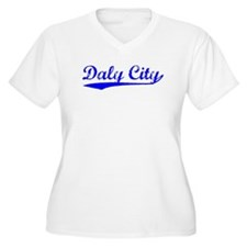 Vintage Daly City (Blue) T-Shirt