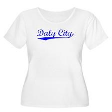 Vintage Daly City (Blue) T-Shirt