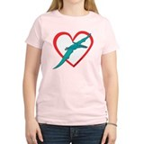 Heart Flying Dino T-Shirt