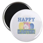 Cute Happy Easter Design Magnet