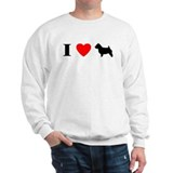 I Heart Norwich Terrier Sweatshirt