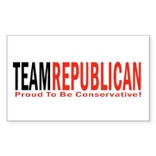 Team Republican - Proud To Be Rectangle Decal