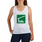 Shelter Sleeping Sign Women's Tank Top