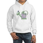Butteryfly & Watering Can Hooded Sweatshirt
