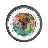Ying-Yang Wall Clock