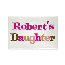 Robert's Daughter Rectangle Magnet (10 pack)