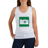 Viewing Area Sign Women's Tank Top