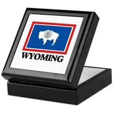 Wyoming Keepsake Box