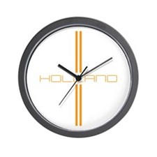 HOLLAND STRIPES Wall Clock