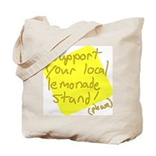 Support Your Local Lemonade Stand Tote Bag