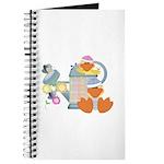 Cute Garden Time Baby Ducks Journal