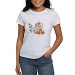 Cute Garden Time Baby Ducks Women's T-Shirt