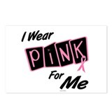 I Wear Pink For ME 8 Postcards (Package of 8)