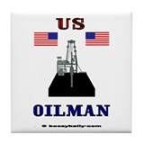 US Oilman Tile Coaster