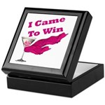 I Came To Win (1) Keepsake Box